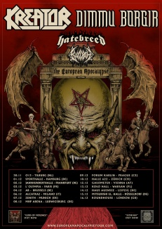 EUROPEAN APOCALYPSE TOUR 2018