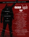 KREATOR & LAMB OF GOD • 11.12.2021, 19:00 • Essen