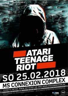 ATARI TEENAGE RIOT 2018  | www.metaltix.com