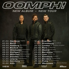 OOMPH!: EUROPEAN TOUR 2019 Tickets | www.metaltix.com